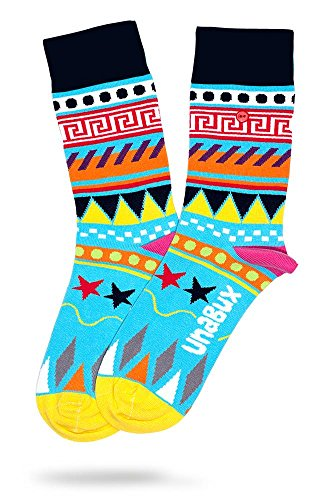 Weit Oben Socken (UNABUX Socken Söckchen Struempfe Longsocks fuer Damen oder Herren - GROESSE 41-46)