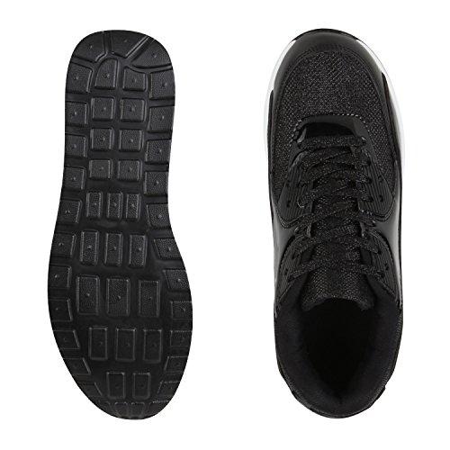 napoli-fashion , Chaussures de sport d'extérieur pour homme Noir brillant
