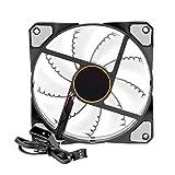 Unterbrechen PC Computer 15LED-Lichter Silent Chassis Case Kühlkörper Kühler Cooling Fan