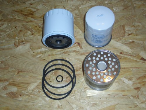 Motor-Spezi Filtersatz für Volvo Penta MD 2020 bis MD 2030 sowie D2-55 und D2-75, ersetzt 3581078, 861477 und 3581621