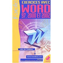 Word 2000 à 2002 : Exercices