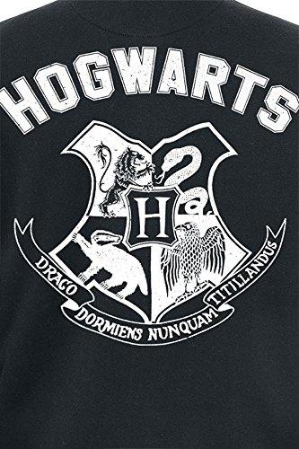 Harry Potter Hogwarts Veste Collège noir/gris Noir