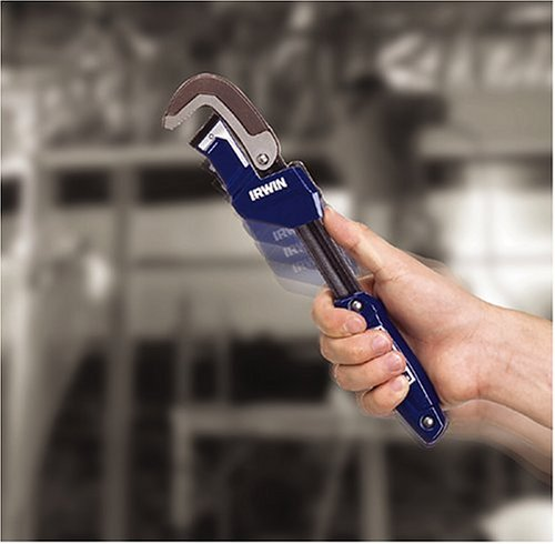 Irwin 274001DS Vise Grip 2-1/4-Inch Jaw Capacity 11-Inch Quick Adjusting Pipe Wrench by Irwin Tools
