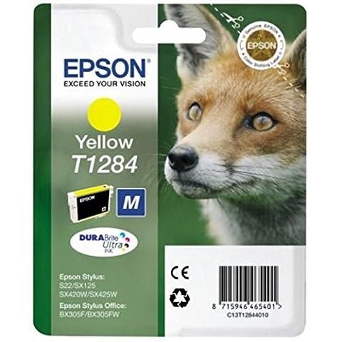 Epson Original Durabrite Fox T1284 Ink Cartridge -