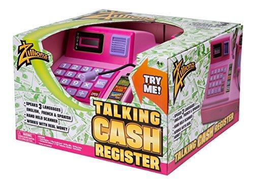 Zillionz Talking Cash Register - Pink by Zillionz (Schauen Slinky)