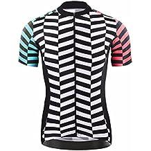 Uglyfrog #N02 Bike Wear Ciclismo Mujers Maillots Sports Seco y transpirable de Bicicleta Conjunto de Ropa de Ciclo Jersey de manga corta