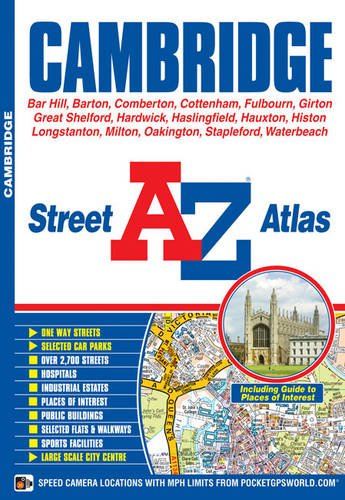 Cambridge Street Atlas (A-Z Street Atlas S.) (London A-z Map)
