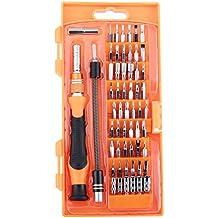 GHB 58pcs Destornilladores de Precision Juego de Destornilladores del Teléfono Celular Tableta PC Macbook Electrónica kit de Herramienta de la Reparación