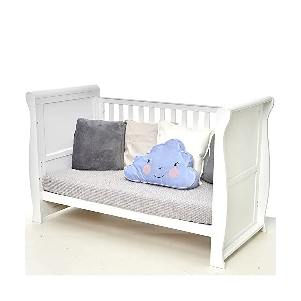 East Coast Kensington Sleigh Cot Bed and Dresser with Moses Basket East Coast  3