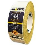 Teppichklebeband 27m Teppiche unterlagen rutschfest, rutschmatte matte band [ANTI RUSHE] Doppelseitiges band mit starker Klebkraft [auf JEDER Oberfläche anwendbar] extra stark antirushe stopper