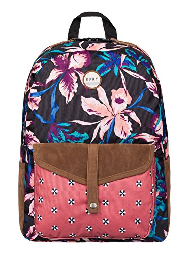 roxy-backpack-caribbean-j-multi-coloured-true-black-maui-lights-size405-x-305-x-125-cm-18-liter