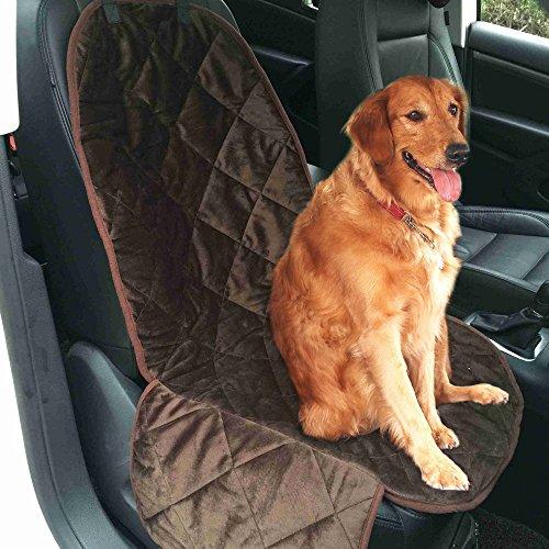 Preisvergleich Produktbild Goodid Kfz-Sitzschoner,  dicke Schutzdecke für Reisen mit einem Hund,  für große Sitze und Kofferraum,  Abdeckung 600d mit kurzen Zotteln