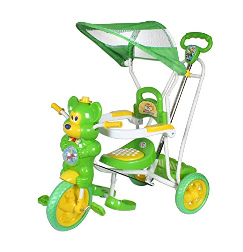 HLX-NMC KIDS FUN MOUSE TRICYCLE CUM ROCKER GREEN/YELLOW  available at amazon for Rs.2299