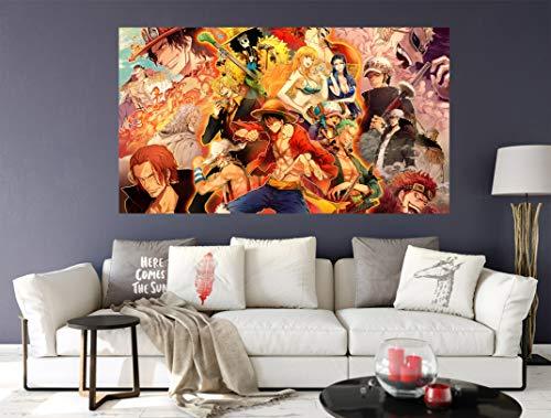 AJ WALLPAPER 3D ONE Piece 263 Japan Anime Wandaufkleber Vinyl Wandbilder Druck Kunst | Selbstklebend Große Wandaufkleber DE Wendy (Vinyl(KeinKleber&abnehmbar), 【19.7