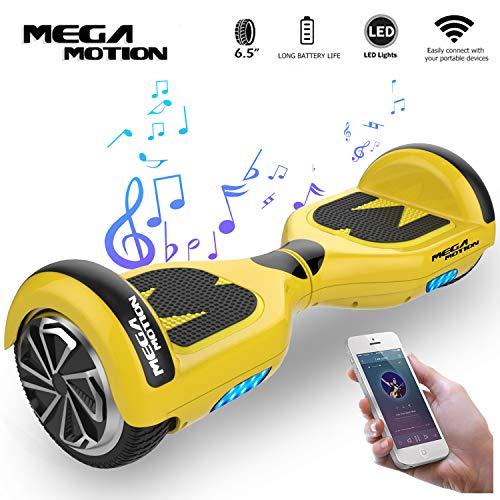 "Mega Motion Self Balance Scooter Elettrico E1-6.5\"" Elettrico Segway -Bluetooth - [Sicurezza UL CE]"