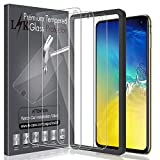 LK Protection écran pour Samsung Galaxy S10e, [3 Pack] [Max Coverage] Verre Trempé Film Protection[Installation Facile Cadre d'Alignement] [sans Bulles] avec Garantie de Remplacement à Vie