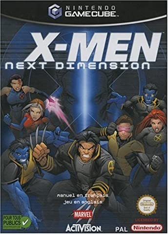 X Men Gamecube - X-Men Next