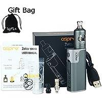 Preisvergleich für Aspire Zelos 50 W Vape Kit mit 2500 mAh Zelos Akku Mod und Nautilus 2 Zerstäuber Tank elektronische Zigarette...