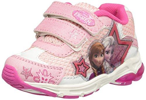 Frozen Running Light, Sneaker a Collo Basso Bambina Rosa