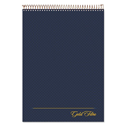 Ampad Gold Fibre Drahtkammbindung Legal Pad, Legal/Breite Rule, Letter, weiß, 70Blatt, (20-815) (Top-spirale Gebunden Notebook)