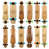 Bamboo Series Longboard Skateboard Premium Model (Austin 36in)