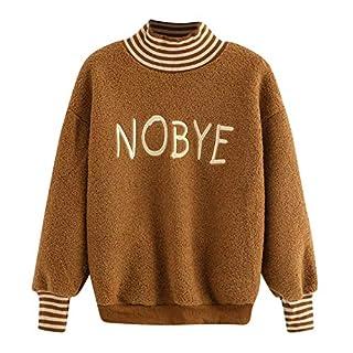 Riou Winter Warm Long-Sleeved Hooded Sweatshirt Sweatshirt,Womens Casual Solid Letters Embroider Long Sleeve Sweatshirt Pullover Top Blouse