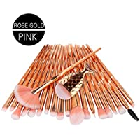 TAOtTAO 21PCS Make Up Foundation Eyebrow Eyeliner Blush Cosmetic Concealer Brushes