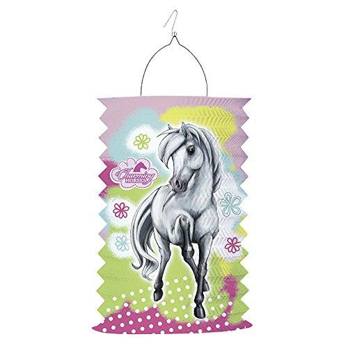 Amscan-150498-Laterne Pferde 2feuerbeständig