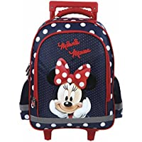 MINNIE MOUSE - SAC A ROULETTE TROLLEY - SAC A DOS CARTABLE - NOUVEAUTÉ  DISNEY 178a103b0276