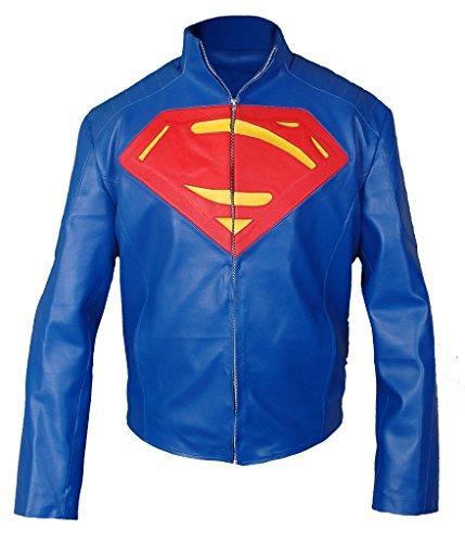 F&H Men's Superman Jacket blue
