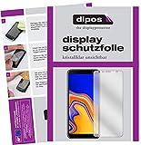 dipos I 2X Schutzfolie klar passend für Samsung Galaxy J4 Plus (2018) Folie Bildschirmschutzfolie