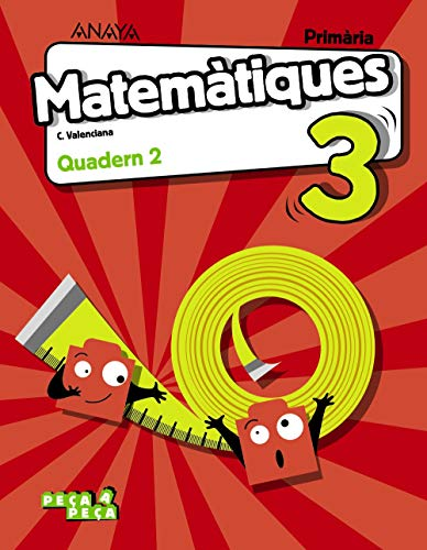 Matemàtiques 3. Quadern 2. (Peça a peça)