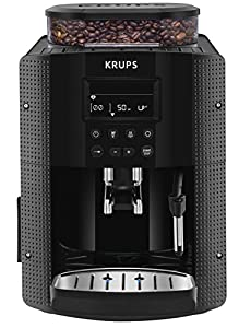 Krups Espresseria EA8150 Automatic Bean to Cup Coffee Machine, Black