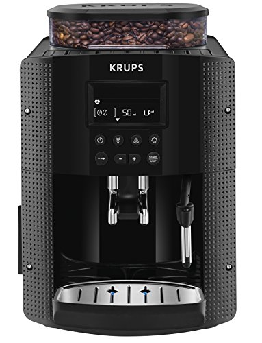 Krups EA8150freistehend vollautomatisch Maschine Espresso 1.7L 2Tassen schwarz–(freistehend,...
