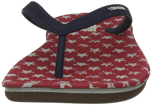 Converse Sandstar Flag, Tongs mixte adulte Rouge/blanc/marine