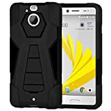Amzer Dual Layer Hybrid KickStand Case Cover for HTC 10
