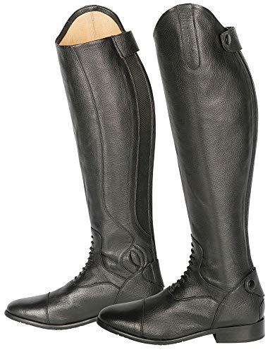 Harry\'s Horse Leder Reitstiefel Donatelli Dressurbogen div. Weiten und Höhen schwarz (S 39)