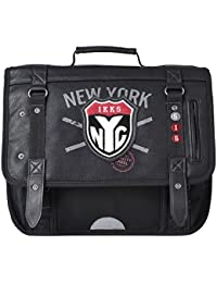 IKKS Boy NYC Cartable, 38 cm, Anthracite