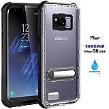 Samsung Galaxy S8Plus Coque étanche, IP68Coque par Asakuki, certifié Coque, protection intégrale, résistant aux chocs, résistant aux rayures, résistant à la poussière Coque avec protection d'écran sensibles–S8+