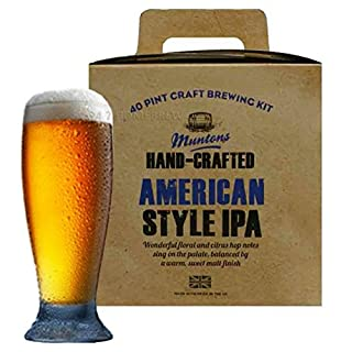 Muntons Hand Crafted Range American IPA 40 pints 23L 3kg - Homebrew Beermaking