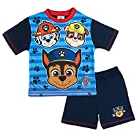 Paw Patrol Boys Pyjamas Pup Faces Pjs