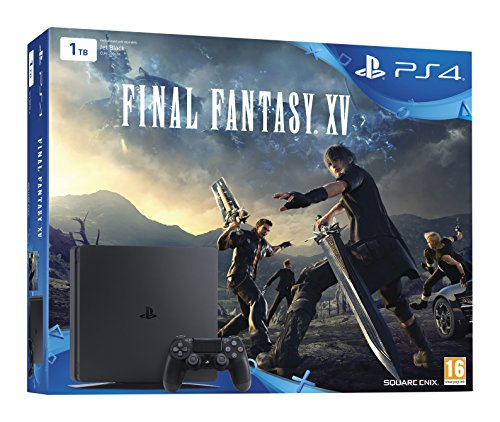 PlayStation 4 Slim (PS4) 1TB - Consola + Final Fantasy XV