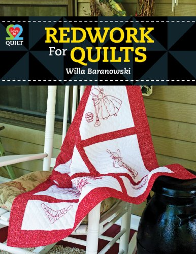 Redwork for Quilts -