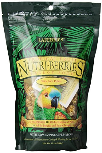 Lafeber Tropical Fruit Nutri-Berries 300g Papageien (Tropical Berry Geschmack)