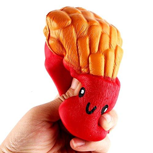 Preisvergleich Produktbild Langsames Aufsteigen,  Hansee 12CM Pommes Frites Creme Duft Squeeze 6 Sekunden langsame steigende Spielzeug