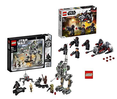 Star Wars Lego 75261 - Clone Scout Walker - 20 Jahre Lego, Bauset + Lego 75226 Inferno Squad Battle Pack