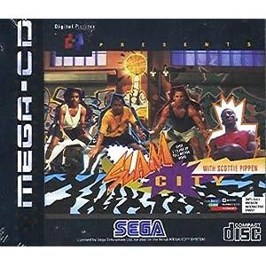 Slam City with Scottie Pippen MEGA CD PAL