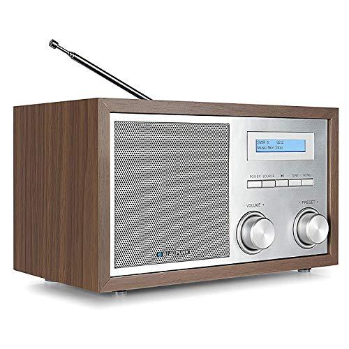 Blaupunkt RXD 180 DAB+ Digital Radio | Küchen-Radio mit Bluetooth | Aux In | UKW/FM  PLL Radio mit RDS | Alu-Optik und Drehregler
