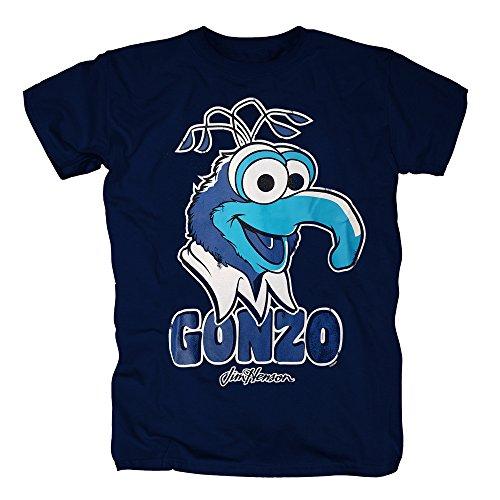 TSP The Muppets Show - Gonzo T-Shirt Herren XS Dunkelblau