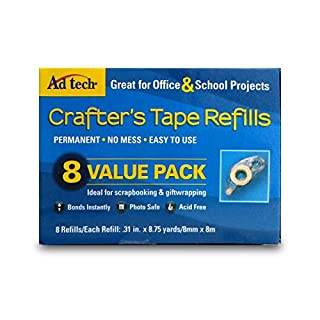AD TECH Crafter 's Tape Refills Value Pack, Acryl, mehrfarbig